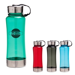 Custom Screw Top Fusion Water Bottle 22oz