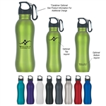 Custom Grip Stainless Steel Water Bottle 25oz