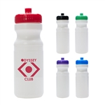 Custom Recycled HDPE Water Bottle 24oz