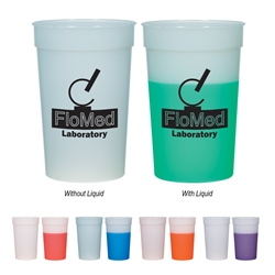 Custom Mood Color Changing Stadium Cup 22oz