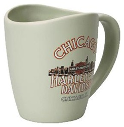 Personalized Ceramic Kisser Coffee Mug 16oz
