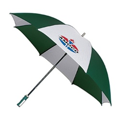 Custom 62-Inch Arc Fiberglass Golf Umbrella