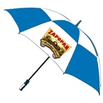 Custom 62-Inch Arc 4-Color Process Vented Umbrella