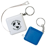 Custom Tape-A-Matic Tape Measure w-Key Tag