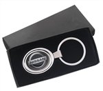 Custom Imprinted Oval Logo Key Tag