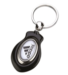 Logo Imprinted N-Dome™ Orion Duo Key Tag