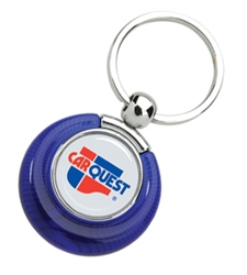 Personalized N-Dome™ Bonny Duo Key Tag