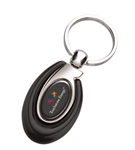 Custom N-Dome™ Zepplin Duo Key Tag