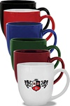 Custom Imprinted Ceramic Bistro Mug 14oz