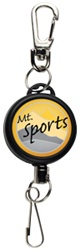 Custom Heavy-Duty Sport Logo Badge Reel