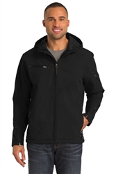 PA Men's Textured Hooded Soft Shell Jacket