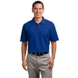 Embroidered Stain-Resistant Men's Polo