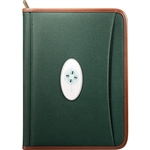 Personalized Northwest Zippered Padfolio