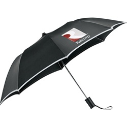 Promotional Auto Folding 42-Inch Safety Umbrella