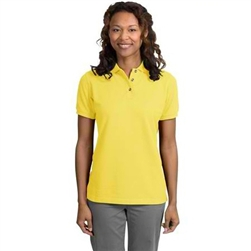 Ladies Port Authority Pique Knit Polo