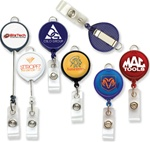 Customizable Logo Printed Badge Reel w-Lanyard