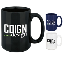Custom Magnum Large Coffee Mug 15oz