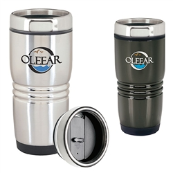 Personalized Rolling Ridge Stainless Steel Tumbler 16 Oz