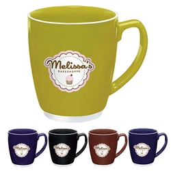 Logo Imprinted Bistro Color Mug 20oz