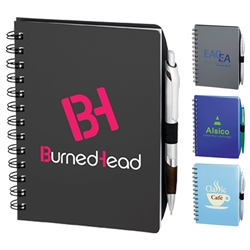 Logo Imprinted Coordinator Journal Spiral Notebook