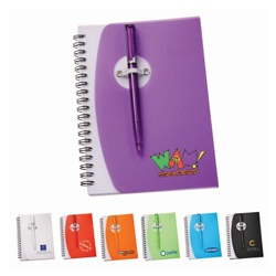 Promotional Sun Spiral Notebook