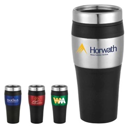 Imprinted Cayman Logo Travel Tumbler 16oz