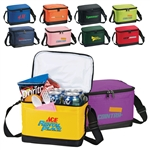 Logo Imprinted Insulated 6-Pack Bag