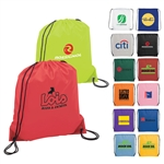 Promotional Logo Drawstring Backpack