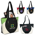 Custom Imprinted Aspen Tote Bag