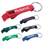 Custom Bottle Opener Plastic Key Ring