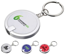 Custom Disc Keychain W-Light