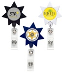 Custom Seven Point Imprinted Star Badge Holder