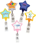 Custom Logo Star-Shaped Badge Reel