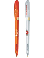 Custom Clear Gold Pivo® BIC® Pencil