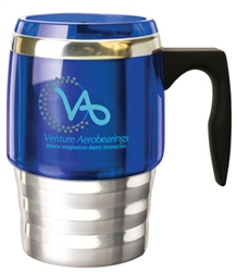 Custom Contour VisionSteel Desktop Mug 15oz