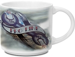 Custom Imprinted White Metro Mug 14oz