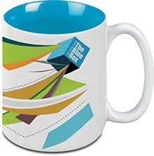 Custom Two-Tone Mighty Mug 15oz