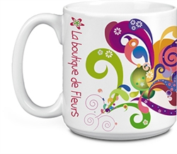 Promotional White Super-Size Mug 20oz