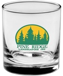 Custom Executive Logo Glass 8oz