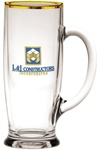 Custom Ferdinand Logo Glass Tankard 18oz