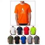 Screenprinted Bayside® Short-Sleeve Adult Tee