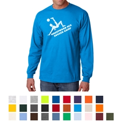 Screenprinted Gildan Ultra Cotton Adult Long Sleeve T-Shirt