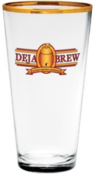 Promotional Large Logo Mixing Glass 20oz