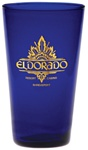 Custom Midnight Blue Logo Mixing Glass 17oz