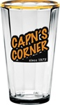 Personalized Optic Logo Mixing Glass 16oz