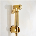 Sanicare Italia Hand Bidet Spray Head (Gold)
