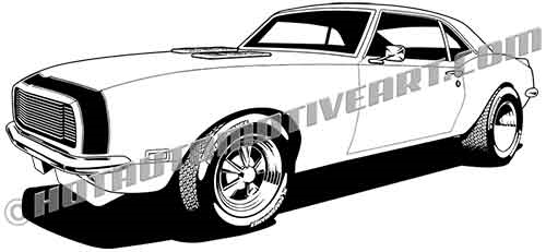 1968 camaro clip art high quality buy two images get one free rh hotautomotiveart com muscle car clipart vector muscle car clipart vector