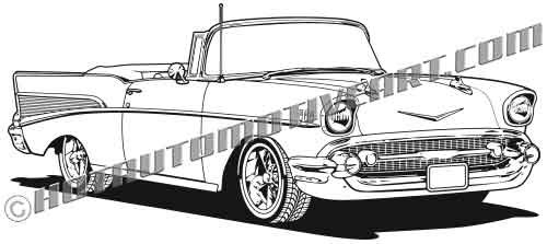 1957 chevrolet convertible clipart buy two images get one image free rh hotautomotiveart com 57 chevy bel air clipart 57 Chevy Clip Art Hi Res