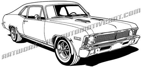 1968 chevy nova ss, buy two images, get one image free