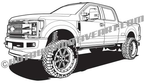 2017 ford f-250 lifted 4x4 truck, buy two images, get one free